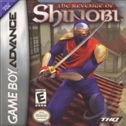 Revenge Of Shinobi GBA Cover Art