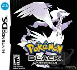 Pok�mon: Black Version NDS Cover Art