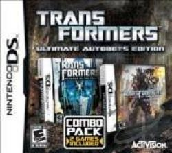 Transformers: Ultimate Autobots Edition NDS Cover Art
