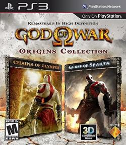 God of War: Origins Collection PS3 Cover Art