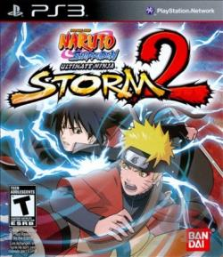 Naruto Shippuden: Ultimate Ninja Storm 2 PS3 Cover Art