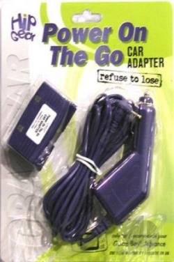Power On the Go-Car Adaptor GBA Cover Art