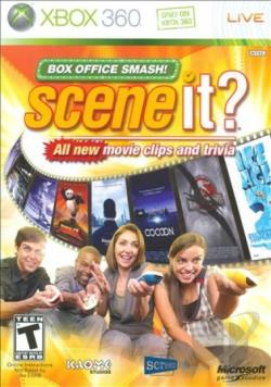 Scene It? Box Office Smash XB360 Cover Art