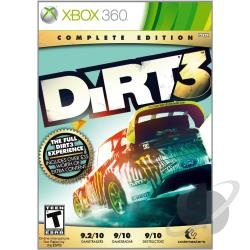 Dirt 3: Complete Edition XB360 Cover Art