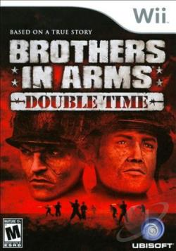 Brothers in Arms: Double Time WII Cover Art