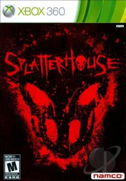 Splatterhouse XB360 Cover Art