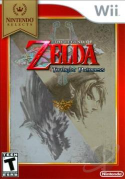 Legend of Zelda: Twilight Princess WII Cover Art