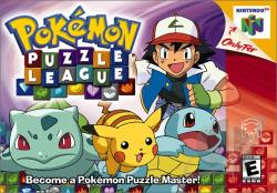 Pokemon Puzzle League N64 Cover Art