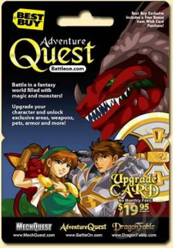 Game Card-Adventure Quest PCG Cover Art