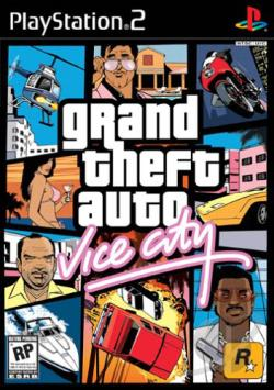 Grand Theft Auto: Vice City PS2 Cover Art