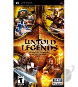Untold Legends: Brotherhood of the Blade PSP Cover Art