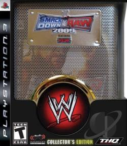 WWE SmackDown vs. Raw 2009 Featuring ECW: Collector's Edition PS3 Cover Art