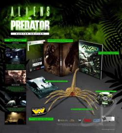 Aliens vs. Predator: Hunter Edition XB360 Cover Art