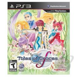 Tales of Graces f PS3 Cover Art