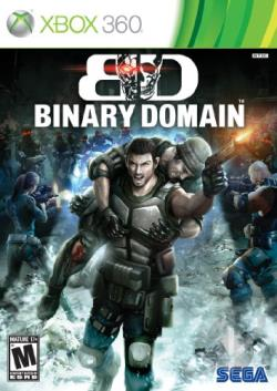 Binary Domain XB360 Cover Art