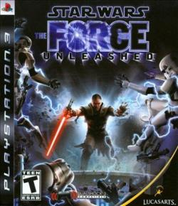 Star Wars: The Force Unleashed PS3 Cover Art