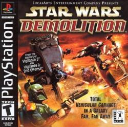 Star Wars Demolition PS Cover Art