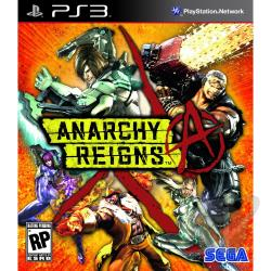 Anarchy Reigns PS3 Cover Art