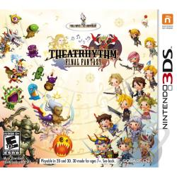 Theatrhythm Final Fantasy NDS Cover Art
