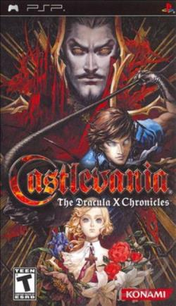 Castlevania: The Dracula X Chronicles PSP Cover Art