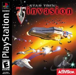 Star Trek: Invasion PS Cover Art