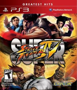 Super Street Fighter IV PS3 Cover Art