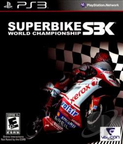 Superbike World Championship SBK PS3 Cover Art