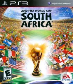 2010 FIFA World Cup: South Africa PS3 Cover Art