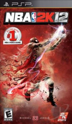 NBA 2K12 PSP Cover Art