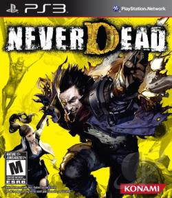 NeverDead PS3 Cover Art