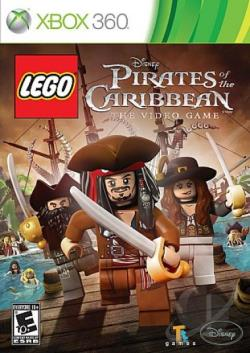 LEGO Pirates of the Caribbean: The Video Game XB360 Cover Art