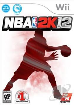 NBA 2K12 WII Cover Art