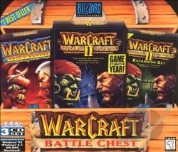 Warcraft Battlechest CDX Cover Art