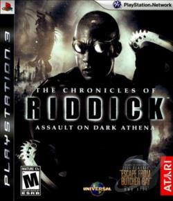 Chronicles of Riddick: Assault on Dark Athena PS3 Cover Art