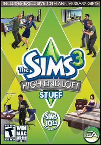 Sims 3: High-End Loft Stuff PCG Cover Art