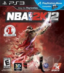 NBA 2K12 PS3 Cover Art