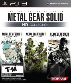 Metal Gear Solid HD Collection PS3 Cover Art