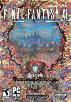 Final Fantasy XI: Treasures Of Aht Urhgan PCG Cover Art