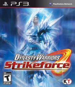 Dynasty Warriors: Strikeforce PS3 Cover Art