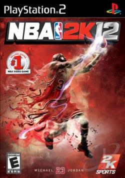 NBA 2K12 PS2 Cover Art