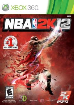 NBA 2K12 XB360 Cover Art