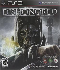 Dishonored PS3 Cover Art