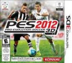 Pro Evolution Soccer 2012 3D 3DS Cover Art