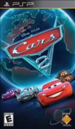 Cars 2 PSP Cover Art