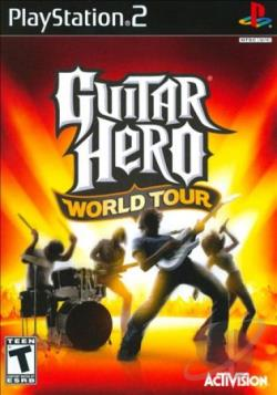 Guitar Hero: World Tour PS2 Cover Art