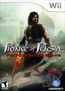 Prince of Persia: The Forgotten Sands WII Cover Art