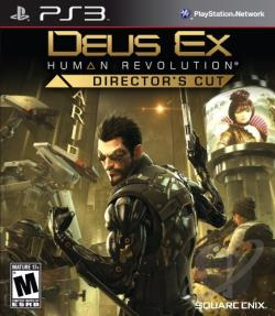 Deus Ex: Human Revolution -- Director's Cut PS3 Cover Art