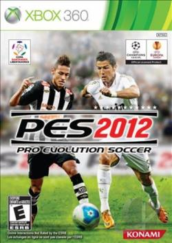 Pro Evolution Soccer 2012 XB360 Cover Art