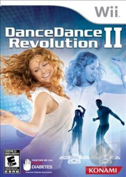 Dance Dance Revolution II WII Cover Art
