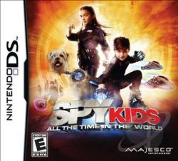 Spy Kids: All the Time in the World NDS Cover Art